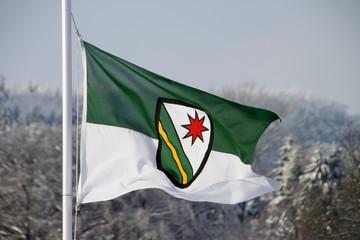 Flagge der Gemeinde Extertal