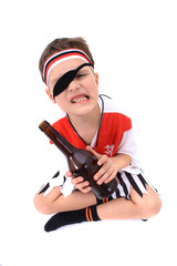 young pirate boy