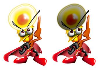 電球のキャラクター