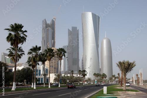 Doha (Qatar) skyline