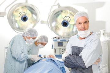 Confident surgeon