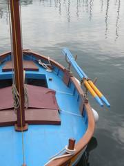 bateau et rames