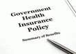 Government Health Insurance Policy and Pen