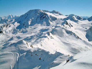Skiing Valley - Val Thoren