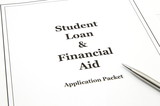 Student Loan and Financial Aid Application Packet poster
