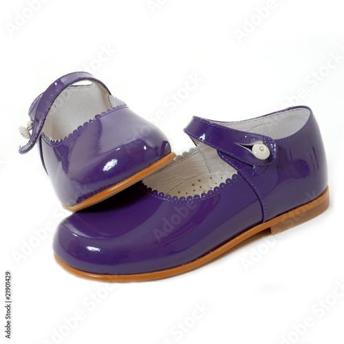 zapatos nuevos niña morados