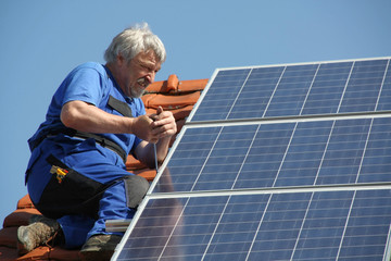 Workman is mounting solar electricity
