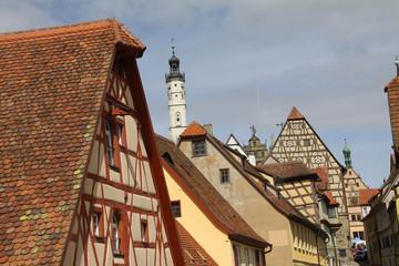 Dächer von Rothenburg