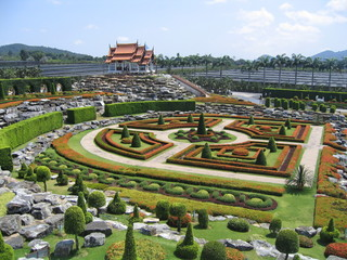 Decorative garden, Thailand