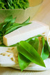 Bärlauch und Parmesan für Pesto
