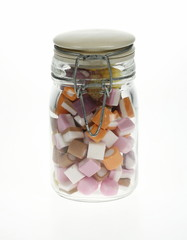 Sweets in a jar