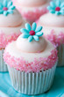 roleta: Flower cupcakes