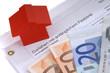 Darlehensvetrag Hausbau Geld
