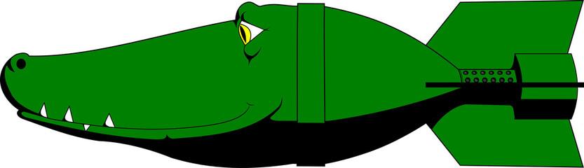 Crocodile bomb