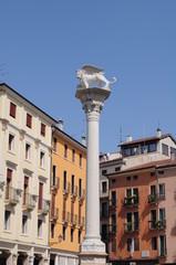 Vicenza_colonna Leone San Marco_piazza dei Signori