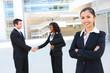 Diverse Attractive Business Team