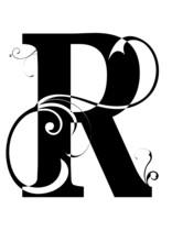 Letra R Alphabet