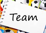 Soccer Team - Fußball Team poster