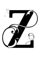 letra Z alfabeto