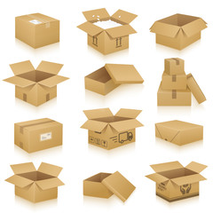 Verpackungen, Kartonnagen