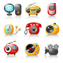 cartoon media home appliances