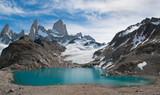 Fototapety Fitz Roy mountain and Laguna de los Tres, Patagonia, Argentina