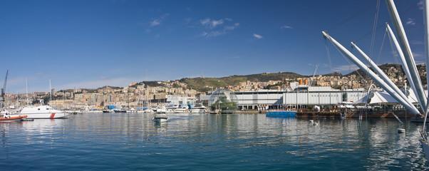 Genova, panorama del Porto Antico