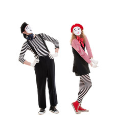 mimes in love