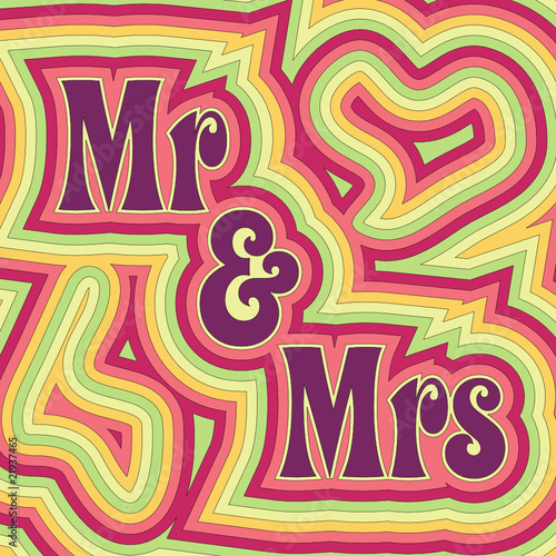 Groovy Mr & Mrs