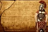 Fototapety Roman letters texture