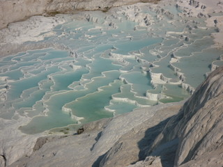 pamukkale spa water terraces