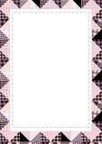 Border patchwork poster