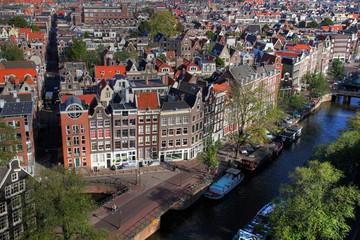 Amsterdam aerial, Netherlands