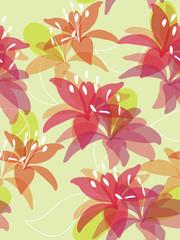 Seamless flower background