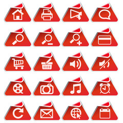 Red Sticker Set 2