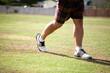 Golfer's legs