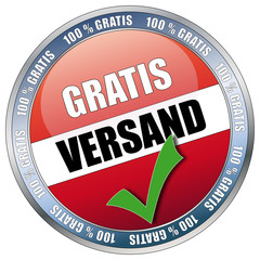 Button - Gratis Versand