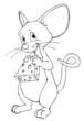 Maus, Käse, Ratte, Freude, freuen