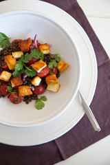 Beautiful lentil salad
