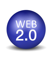 Web 2.0 - blue