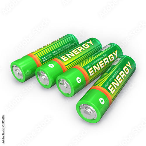 Four AA batteries - 21951428