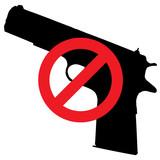 Señal control armas poster