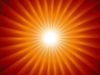 Creative vector sunburst