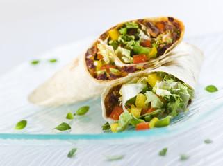 Fresh mexican tortila