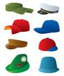 Man's cap set