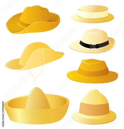 Men's hat set
