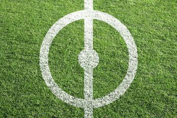 Fußball Mittelkreis