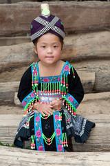 Portrait Hmong Mädchen