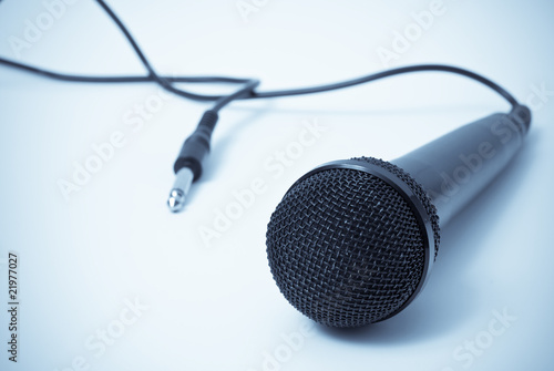 Microphone Musical Industry Concept