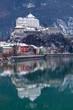 Leinwanddruck Bild - Festung Kufstein